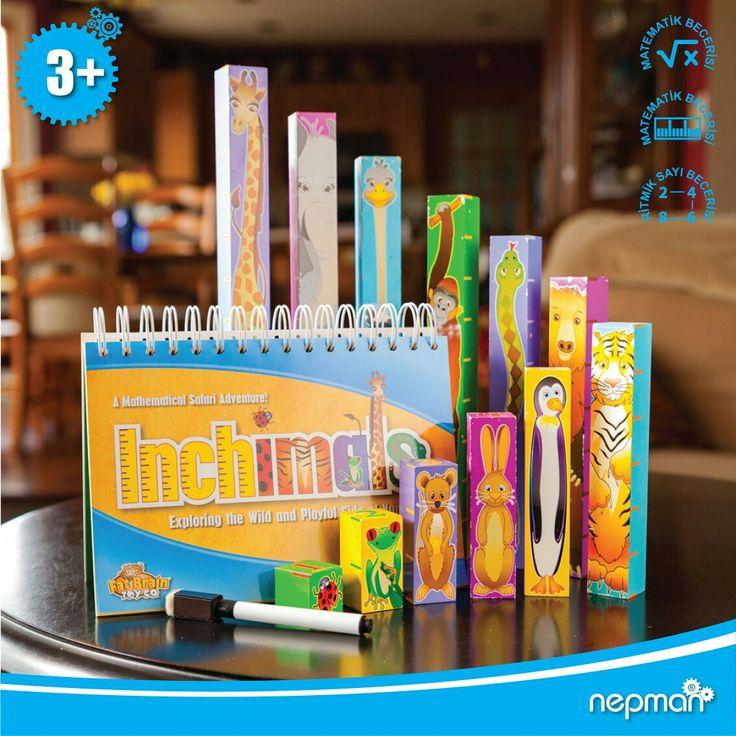 INCHIMALS : Ölçme becerisi, numara olgusu, toplama, çıkarma ve cebir temellerini öğreten son derece etkili bir matematik oyunudur. Her yaştaki çocuklar için ideal bir eğitim materyalidir.