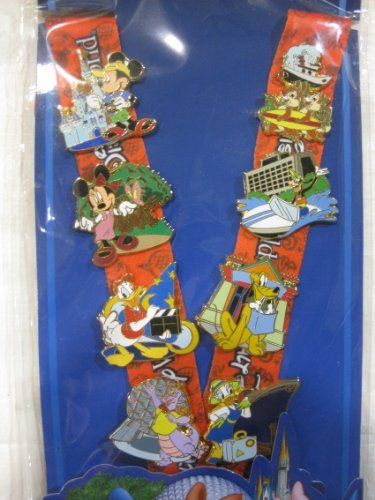 4 Piece Disney Pin Starter Set Finding Nemo Set 2009