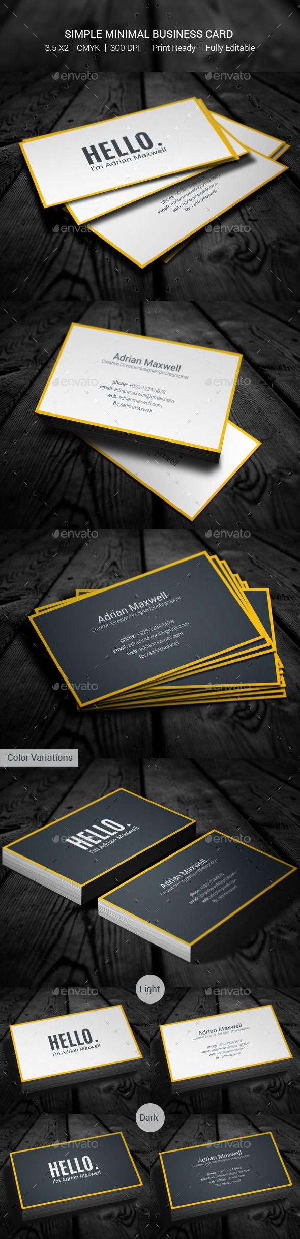 simple minimal business card minimal business cardblack business business card
