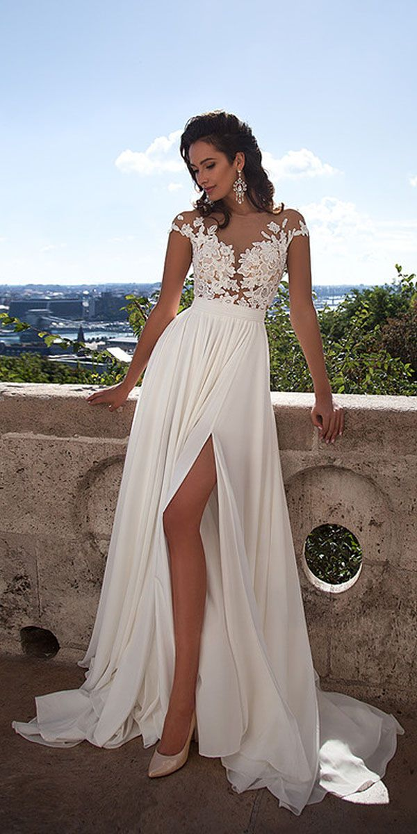 Mila Nova Wedding Dresses Collection 2016 ❤ See more: http://www.weddingforward.com/mila-nova-wedding-dresses/ #weddings #dress