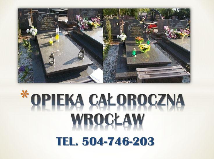 Cmentarz Wrocław Osobowice, tel 504-746-203. Opieka nad grobami na cmentarzach Wrocławia.