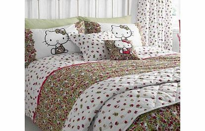 Hello Kitty  Liberty Art Strawberry Fields Bedding Bedding Set Single Hello Kitty meets Londons iconic brand Liberty to create one truly unique collaboration. Hello Kitty is featured in a field of luscious red strawberries and ditsy flowers in this beautiful Liberty pri http://www.comparestoreprices.co.uk/bedding/hello-kitty-liberty-art-strawberry-fields-bedding-bedding-set-single.asp