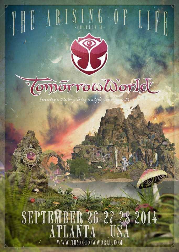 The EDM fairytale continues at TomorrowWorld 2014. More info here: http://festkt.co/NrAZlp