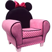 Minnie Mouse chair perfect my future little girl's room.