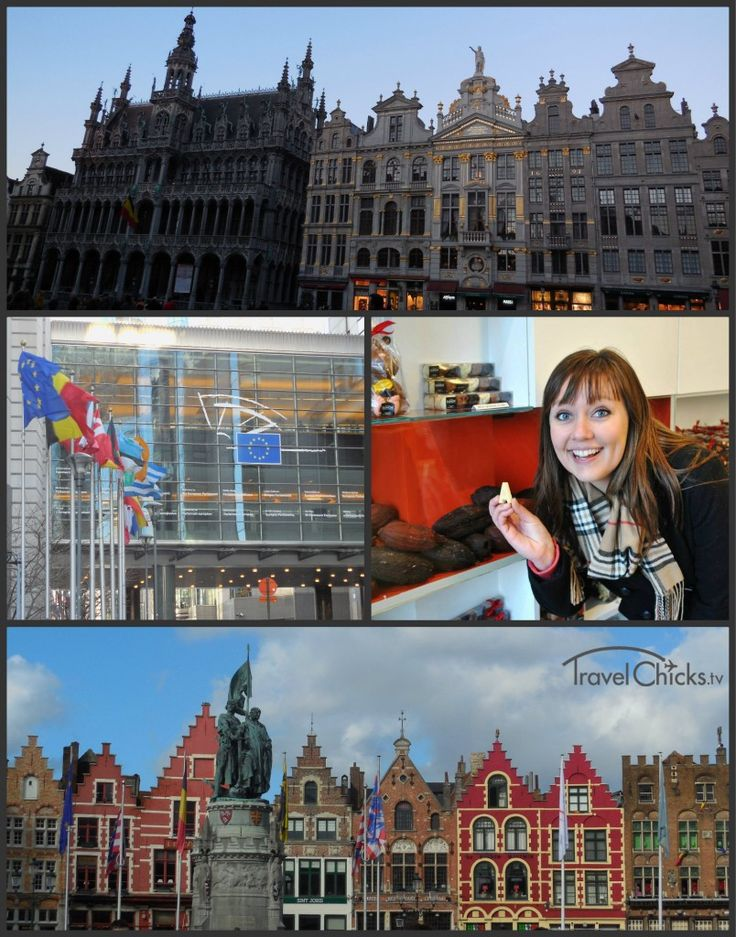 Must-See in Brussels, BELGIUM: Grand place, European Parliament, Bruges market square and more!