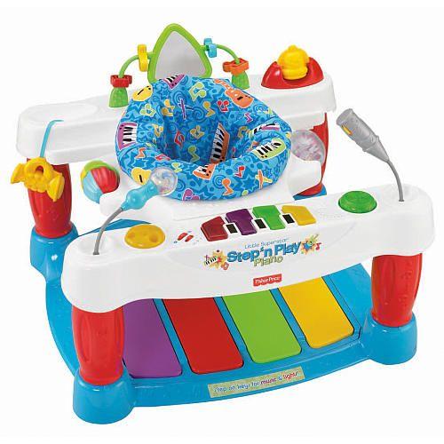 fisher price little superstar step 39 n play piano walker fisher price babies r us pumpkin. Black Bedroom Furniture Sets. Home Design Ideas