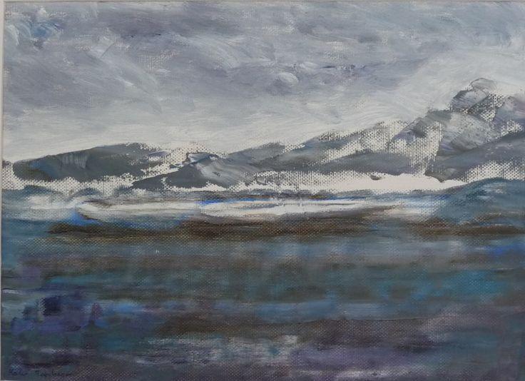 Oil on canvas paper 9x11. Karen Tomlinson.