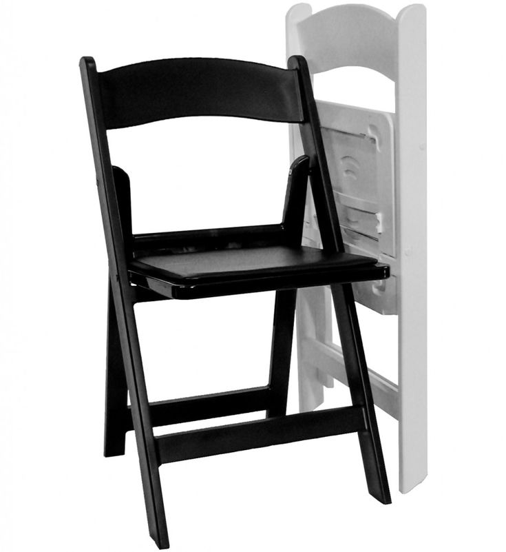Resin Folding Chair Black And White: This Resin Folding Chair Is Designed  To Be Low Maintenance  No Painting Is Ever Neededu2014and Attractive Enough For  Any ...