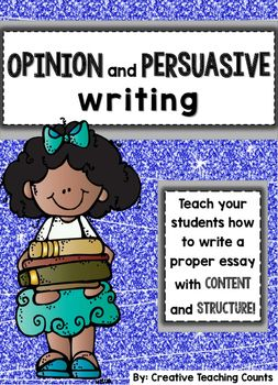 Boxes and Bullets Units of Study - Lucy Calkins Opinion and Persuasive Writing Pack for upper elementary! → Need a product that shows your students that the content and structure of an essay are important? Looking for a way to guide your