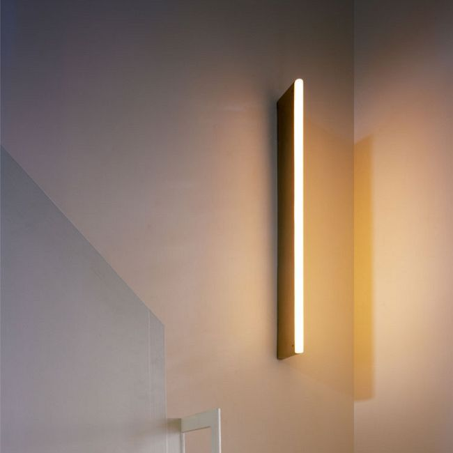 Tube Wall Light By Michael Anastassiades Ma Twl1 B Wall Lights Ceiling Light Design Outdoor Wall Lighting