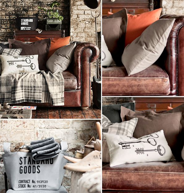 h m home autumn winter collection 2011 vintage decor living rooms and room. Black Bedroom Furniture Sets. Home Design Ideas