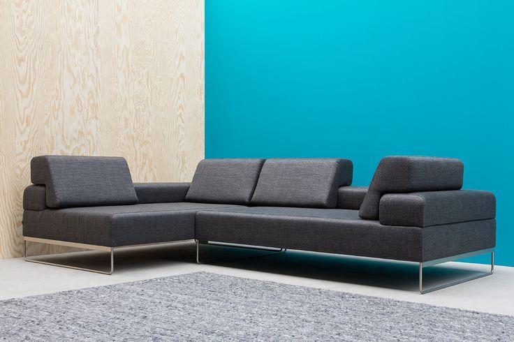 Sofa Rosco NOTI www.euforma.pl #sofa #noti #design #home #livingroom #interiordesign #black