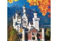 Puzzle Castelul Neuschwanstein Toamna, 1500 Piese | Bebeart