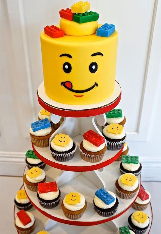 ... de lego, anniversaire à thème Lego et Décorations de lego
