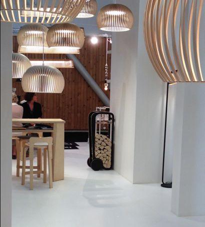 Fleimio Trolley at Maison & Objet Fair in Paris (9/2014).