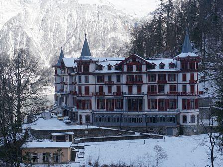 Grand Hotel Giessbach, Switzerland