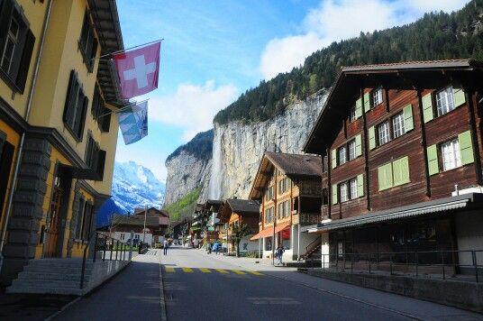 Lautterbrunen, Switzerland.