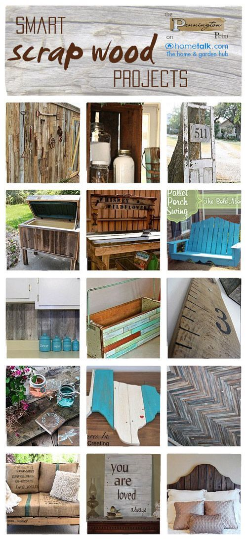Lots of great project ideas using old wood!