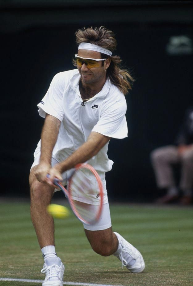 Tennis Outfit Preppy Tennis Ball Massage Piriformis Syndrome Code 4966445833 Andre Agassi Tennis Fashion Tennis Legends