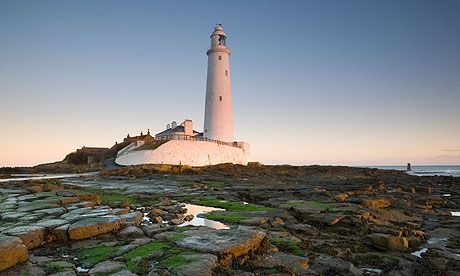 St Mary's Lighthouse, Whitley Bay. Not only where my childhood memories of rock pooling are, but a place very close to my family's heart.