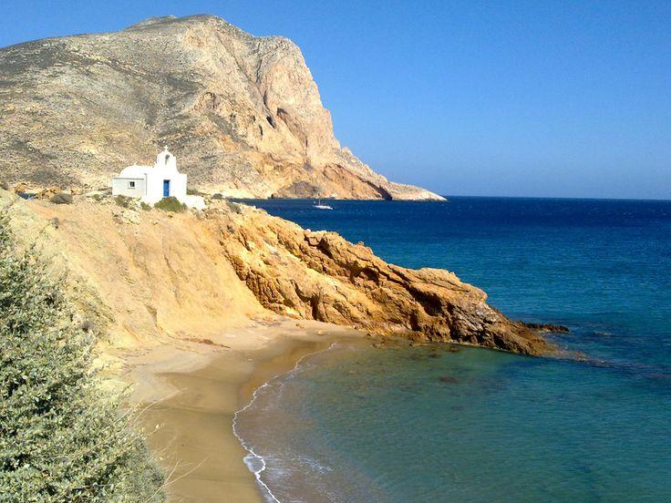 Agioi Anargyri (St. Anargyri) beach, Anafi island (Cyclades), Greece -SkyscraperCity.com