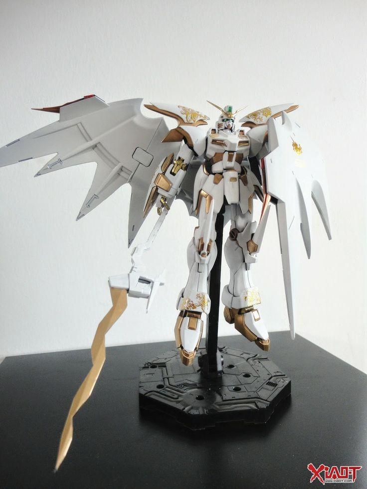 GUNDAM GUY: MG 1/100 White Deathscythe Hell - Customized Build