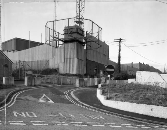 Forkhill Security force base Forkhill, South Armagh, Northern Ireland, UK.   Jonathan Olley, Castles of Ulster