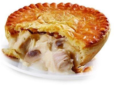 Пирог с волнушками