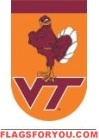 Applique Virginia Tech Garden Flag