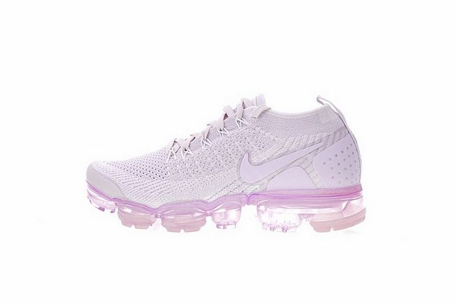 77841ec7cb24 Discount Womens Nike Air VaporMax Flyknit 2.0 W Running Shoes Light Purple  942843-501