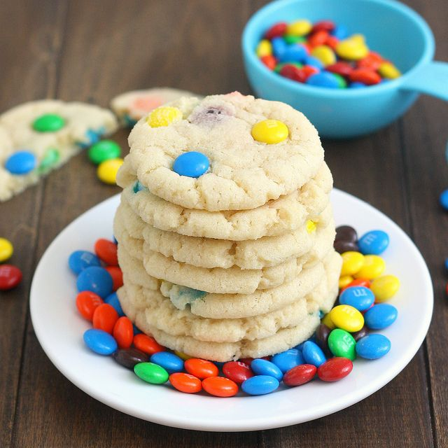 Chewy M Sugar Cookies: Desserts Cupcakes Cookies, Recipe, M M Sugar, Chewy Sugar Cookies, Food, Desserts Cakes Cookies Bars, Sweet Tooth, Desserts Cookies Cupcakes