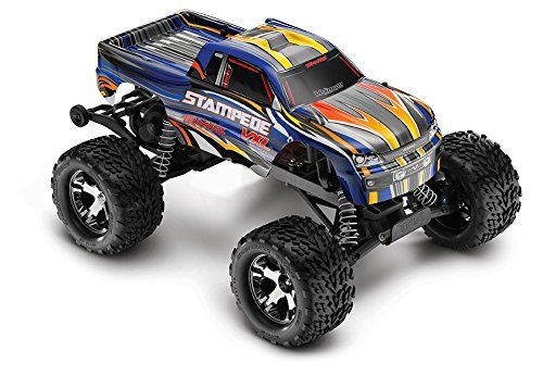 Special Offers - Traxxas 36076-1 Stampede VXL RTR with 2.4GHz Radio Vehicle Color May Vary - In stock & Free Shipping. You can save more money! Check It (May 07 2016 at 01:17PM) >> http://kidsscooterusa.net/traxxas-36076-1-stampede-vxl-rtr-with-2-4ghz-radio-vehicle-color-may-vary/