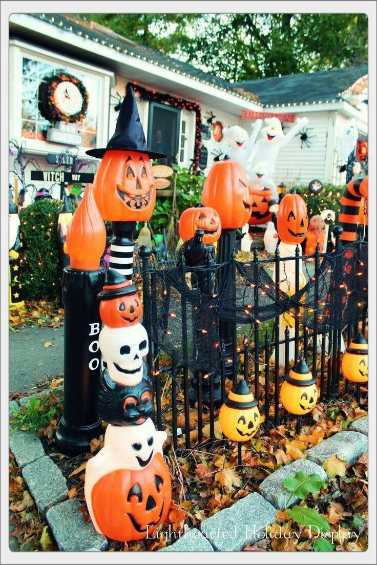 Vintage Outside Halloween Decorations