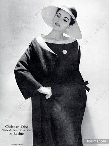 Christian Dior 1957 Racine Textiles