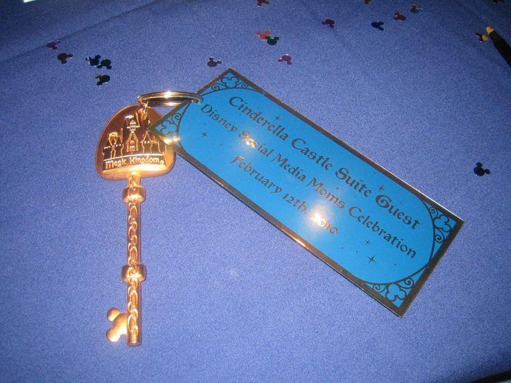 cinderellas castle suite key! this is amazing