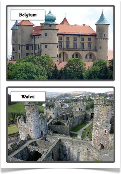 Castles Photo Set - Treetop Displays - EYFS, KS1, KS2 classroom display and primary teaching aid resource