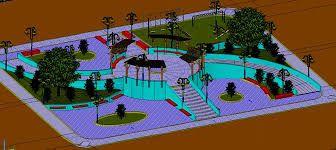 Resultado de imagen para maquetas de parques