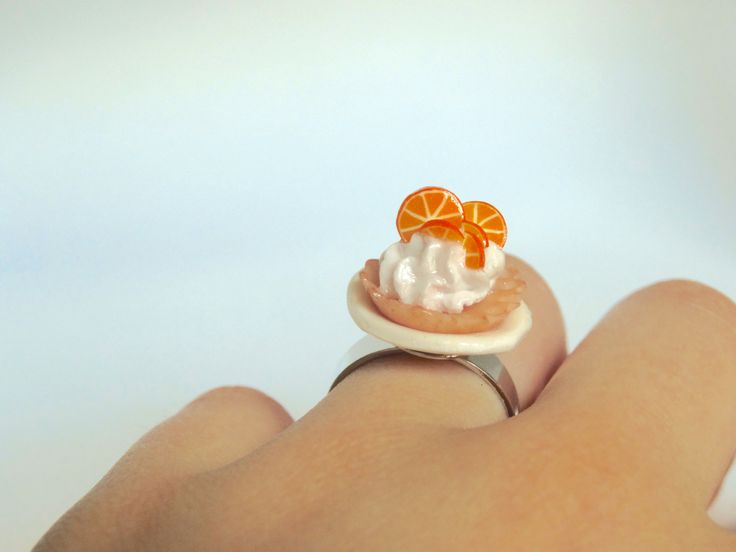 orange Tarte ring ! by Lola Who Charms