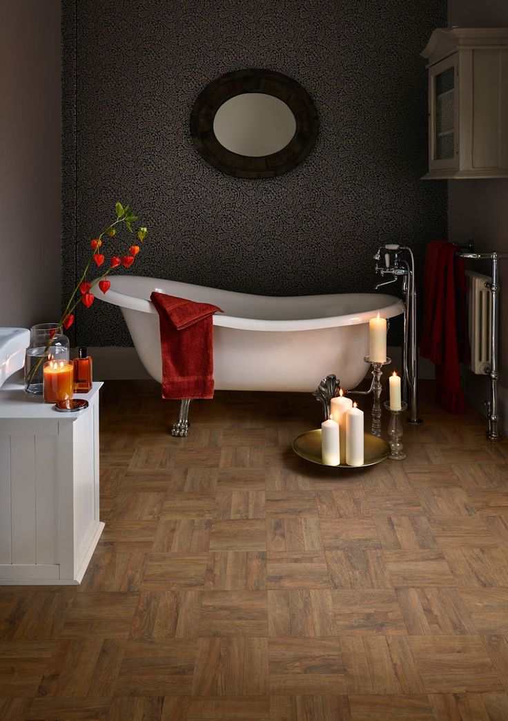 1000 ideas about vinyl tile flooring on pinterest for Luxury vinyl bathroom flooring