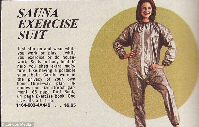 From Inflatable Slimming Shorts To A Sauna Suit Hilarious