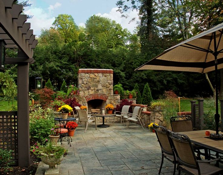198 best Outdoor Fireplace Ideas images on Pinterest | Terraces ...