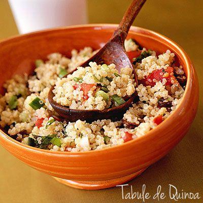 Tabule Saudável de Quinoa (Salada Árabe)