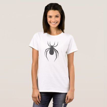 #Scary Black Spider Halloween Costume T-Shirt - #Halloween happy halloween #festival #party #holiday
