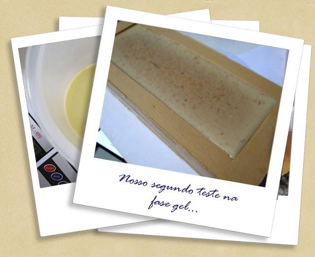 Bolhas de Sabão: Teste Lote #15 Sabonete de Leite de cabra, aveia e mel (Cold Process)