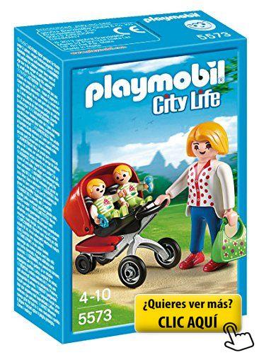 Playmobil Guardería - Mamá con carrito de... #playmovil