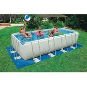 Vintage Intex x x Ultra Frame Rectangular Swimming Pool