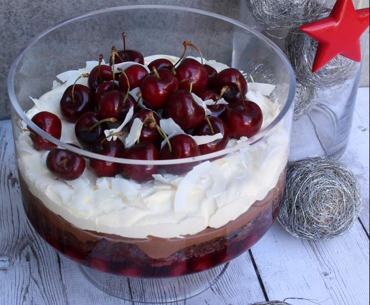 Recipe Black Forest Trifle by arwen.thermomix - Recipe of category Desserts & sweets