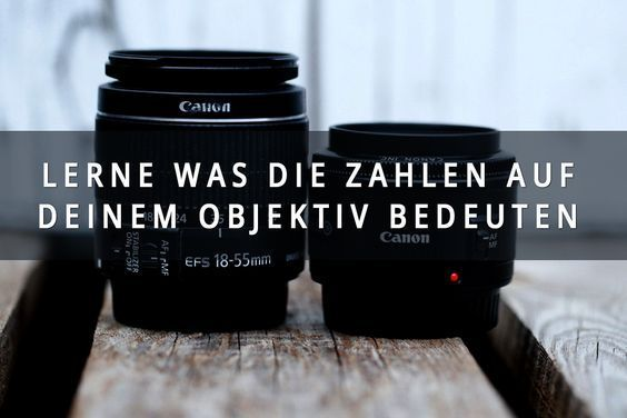 Learn what the numbers mean on your lens in just 5 minutes