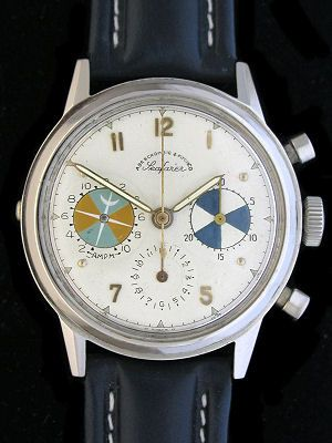 Abercrombie & Fitch Heuer Seafarer Chronograph Watch ...