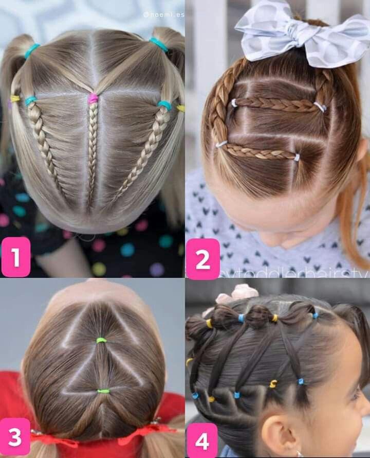 21 Peinados para ninas cabello largo